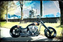 """Softail Harley """"Experience"""" Designed by Vida Loca Choppers / Softail Harley Experience Designed by Vida Loca Choppers in 2012"""