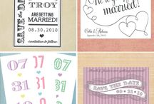 Save the Date Ideas / by Zoé Carrier