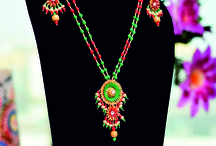 Handcrafted Paddy Craft Necklace Set/Neckpieces
