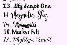 Best Fonts