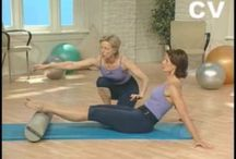 Pilates with roller