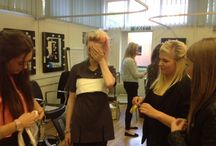 Level 2 Media Hair and Make -up / A new course on offer at Chesterfield College in 14/15, here's a selection of the groups amazing work