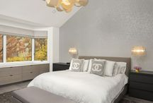 Bedroom Design / Beautiful and modern bedrooms designed by Dresner Design in Chicago, IL