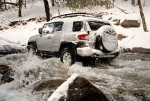 Toyota in Winter / Nothing beats a drive during winter time. Pin the Toyota you'd want with you in the cold!