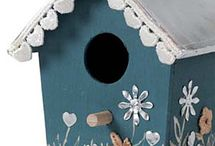 casitas para aves