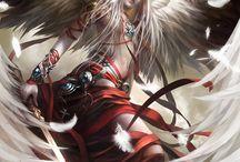 Angels, Warriors (hot men)