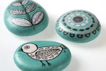 piedras.... pintadas