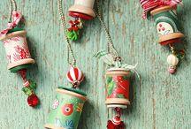 Spool decorations