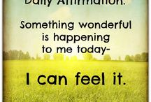 Daily Afirmation
