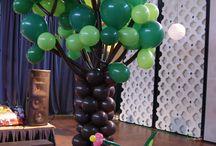 festa com balões