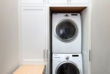 Tiny laundry rooms