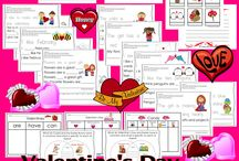 Valentine's day activities / Valentine's day for kids: crafts, decorations, printables and activities