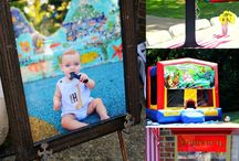 A 1st Birthday Carnival Party