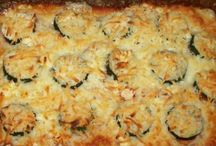 Casseroles ( meat and/or veg.)