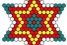 Hama Beads - Stelle