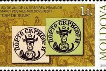 Bull's Head Stamps of Moldavia