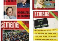 Semana o la vanguardia del periodismo de análisis en Colombia / Recorrido por 64 portadas de la primera etapa de la revista Semana, de Colombia, que hacen parte de la exposición del Semillero de Narrativas Periodísticas, de Comunicación Social de la Universidad EAFIT (Medellín-Colombia), realizada en abril de 2014.