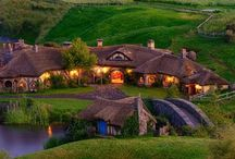 I love hobbit houses