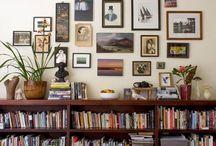 Kitchen bookcase