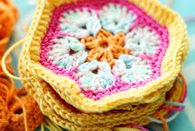Crochet - Flowers and leaves / by Daniela Polidoro