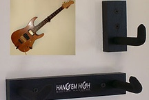 Guitar on the wall