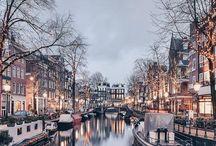 Travel, Netherlands- Amsterdam