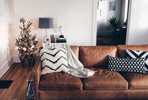Sofa en cueros