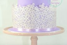 Lillac cakes