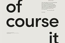 Typography posters ideas