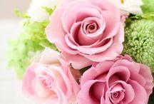Pink / ピンクを貴重としたFineのオリジナルプリザーブドフラワー