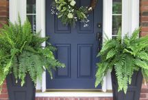 front door arrangements