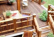 Planning your new deck / Whether you're going DIY or using a contractor, planning a new deck is exciting and maybe a little intimidating. We hope these beautiful ideas help to inspire and encourage you.