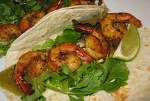 Shrimp tacos / Healthy