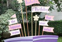 Lana birthday party