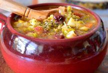 soupes salées chaudes / soupes salées chaudes