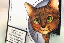 Copic Cat - Lesezeichen Ideenanregungen