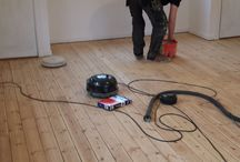 Sanding and refinishing by Criterion Flooring / Refurbished existing floors