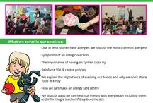 Allergy Awareness Events / Food Allergy Awareness Sessions for Kids by author Jackie Nevard.