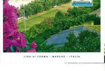 vacanze marche Residenza Ecologica Casabianca / La Residenza Ecologica Casabianca si trova a Fermo, loc. Casabianca, in una delle zone più belle e verdeggianti della Riviera Adriatica, direttamente sulla spiaggia la quale è raggiungibile con il solo attraversamento del giardino antistante.