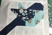 Sewing:- quilt blocks