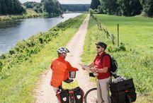 Rad fahren / Über 1.000 Kilometer gut ausgeschilderte Radwege in wunderschöner Natur findet man im Herzogtum Lauenburg - hier ein paar Impressionen.