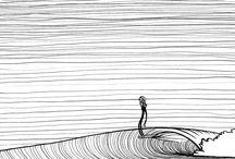 dessin surf