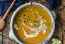 GF & vegan soups || mindenmentes levesek / Isteni egészséges, gluténmentes, tejmentes, tojásmentes leves receptek. ||  Gluten-free, dairy-free and egg-free soup recipes.
