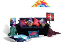 Eclectic and Bohemian Home Decor / Vibrancy and color in Homes !