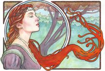 Art Nouveau inspiration / by Maryanne