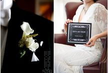 Great Gatsby Styled Wedding Shoot / Black and Silver Art Deco styled shoot with a Great Gatsby Inspiration / by Gourmet Invitations