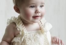 One Year Old Portraits including cake smash photos