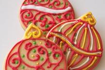 Biscoitos - Natal / Biscoitos decorados / by Daphne Carminati