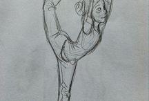 Gymnastické kresby