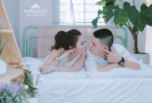 Chụp hình cưới tại Studio Xinh Xinh